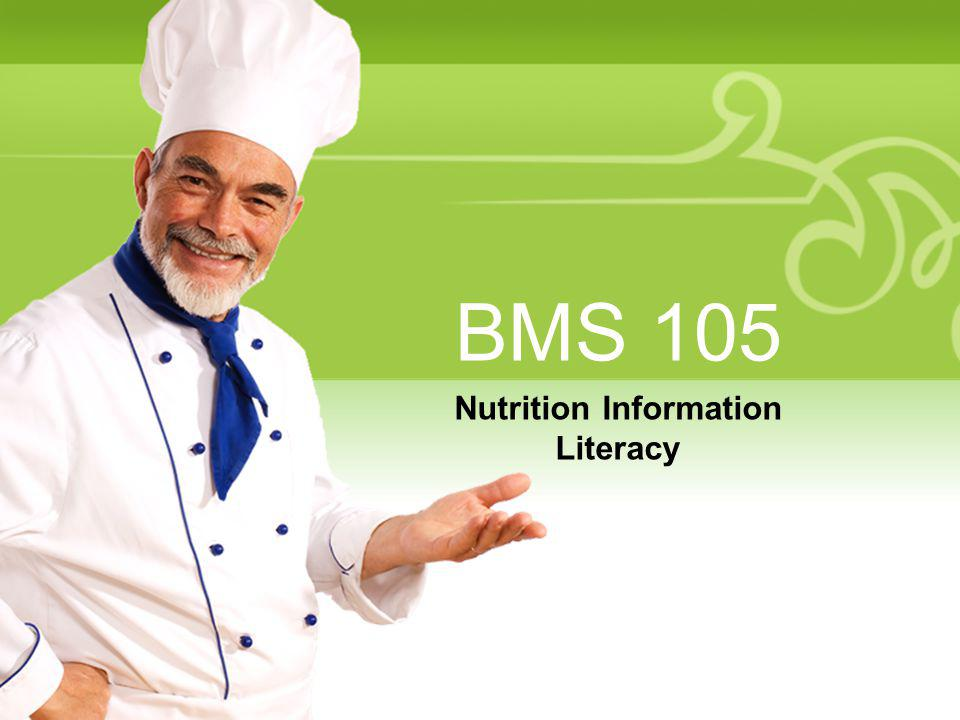 Nutrition Information Literacy