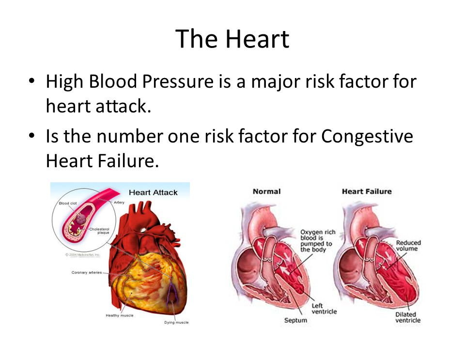 blood pressure and the heart