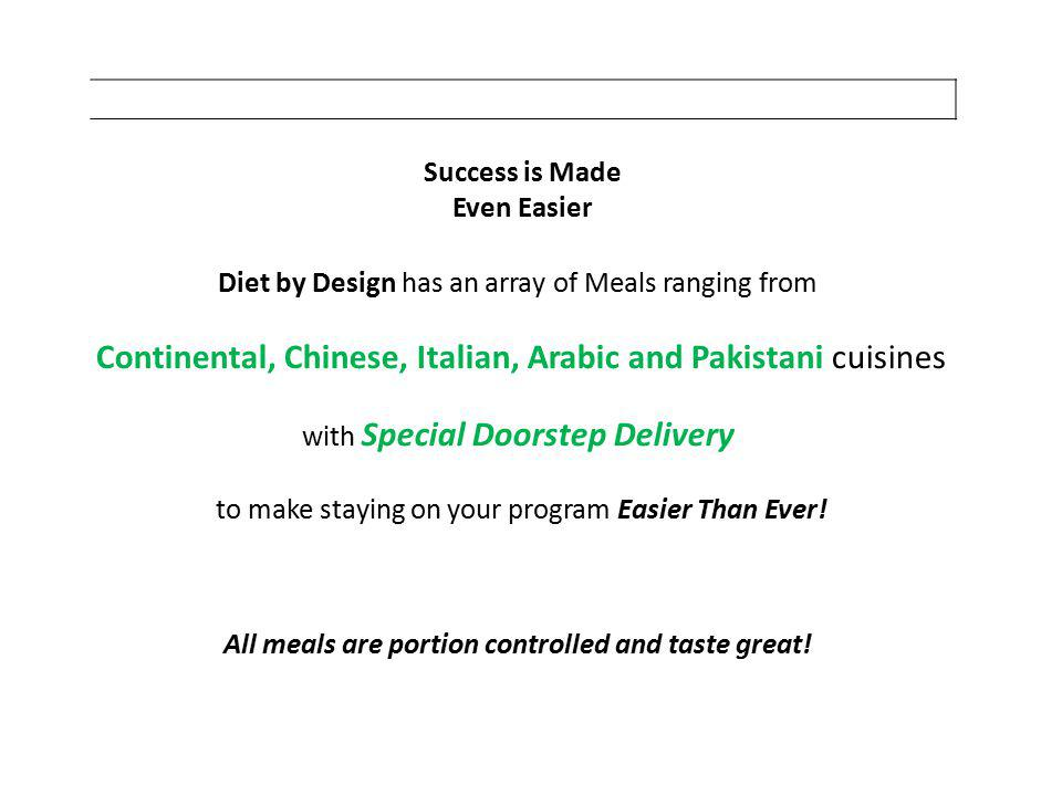 Continental, Chinese, Italian, Arabic and Pakistani cuisines