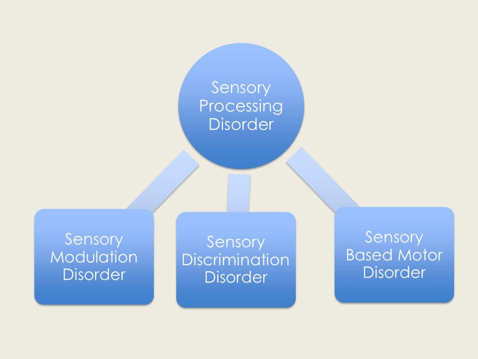 Sensory Processing Disorder Sensory Modulation Disorder