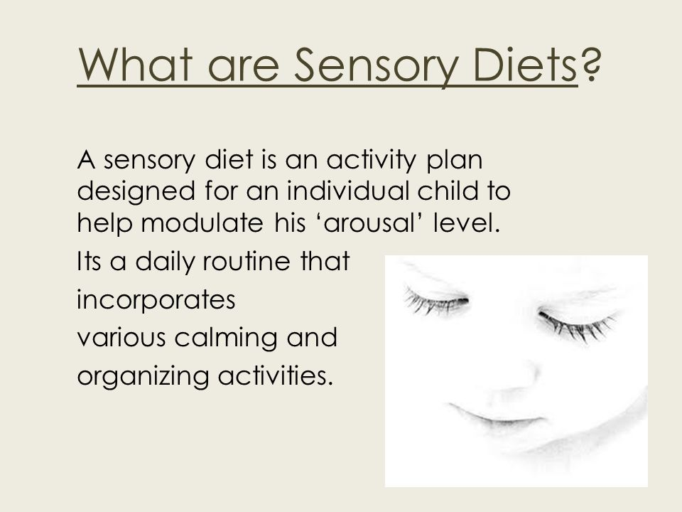What are Sensory Diets