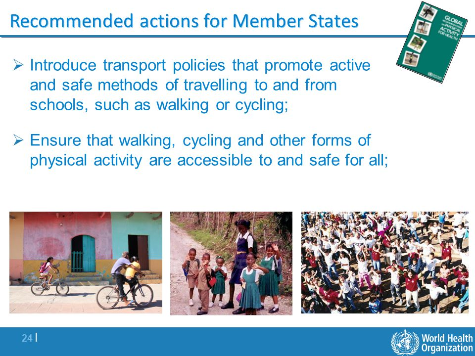 Recommended actions for Member States