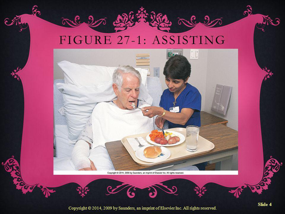 Figure 27-1: Assisting with feeding