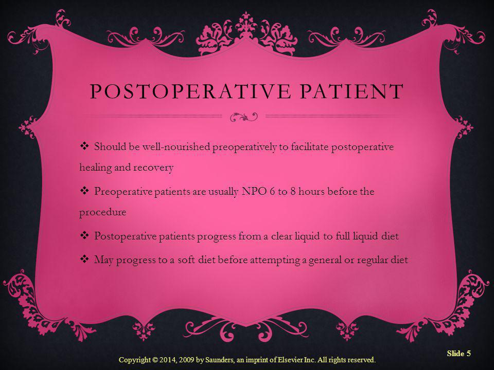 Postoperative Patient