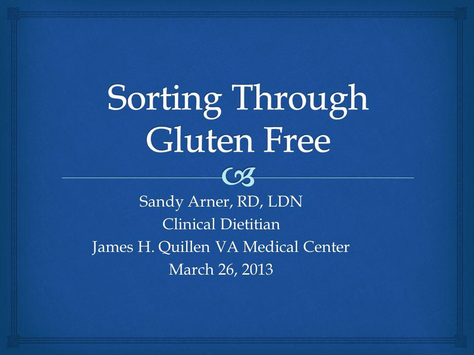 Sorting Through Gluten Free