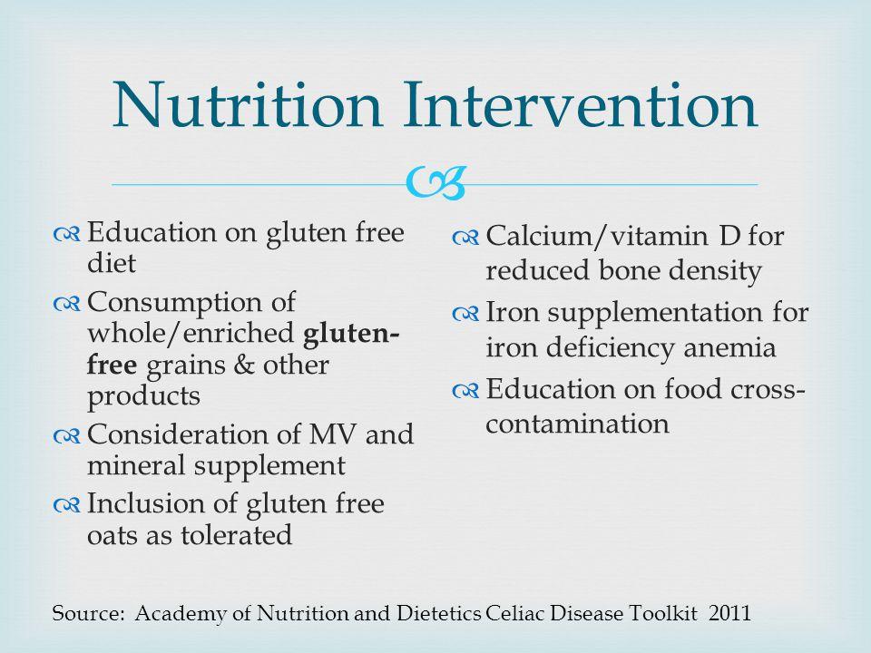 Nutrition Intervention