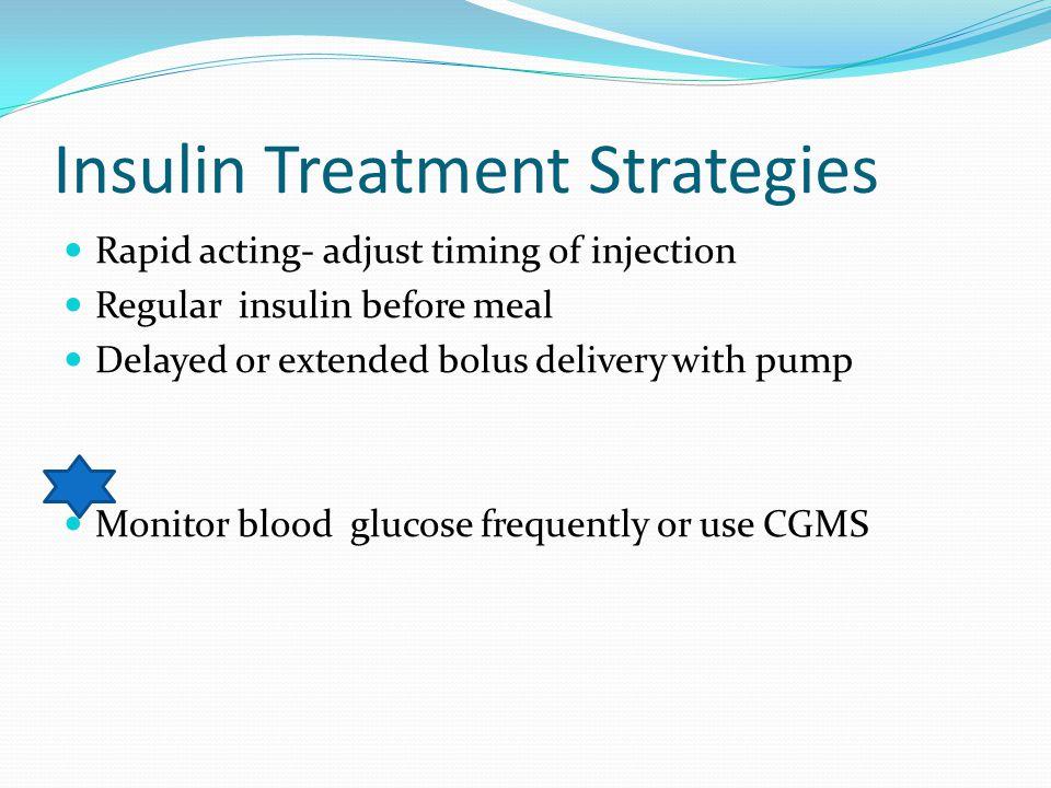 Insulin Treatment Strategies