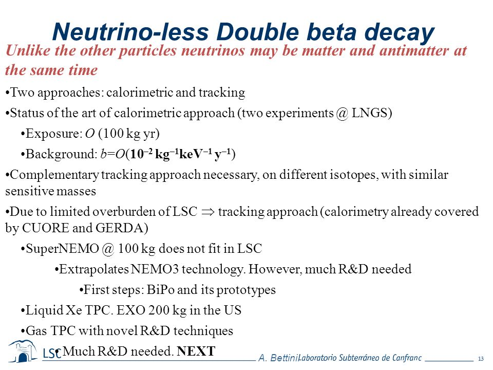 Neutrino-less Double beta decay