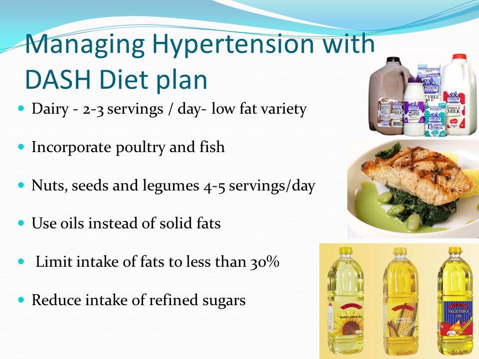 Managing Hypertension with DASH Diet plan
