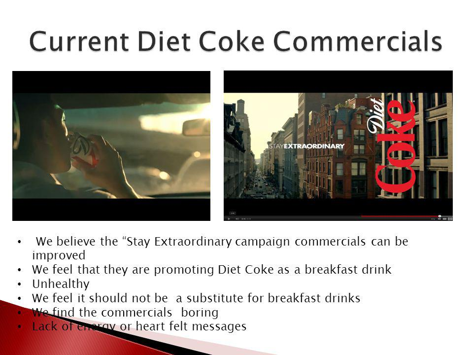 Current Diet Coke Commercials