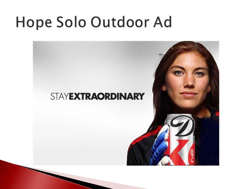 Hope Solo Outdoor Ad