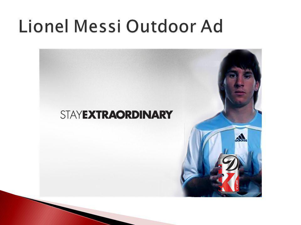 Lionel Messi Outdoor Ad