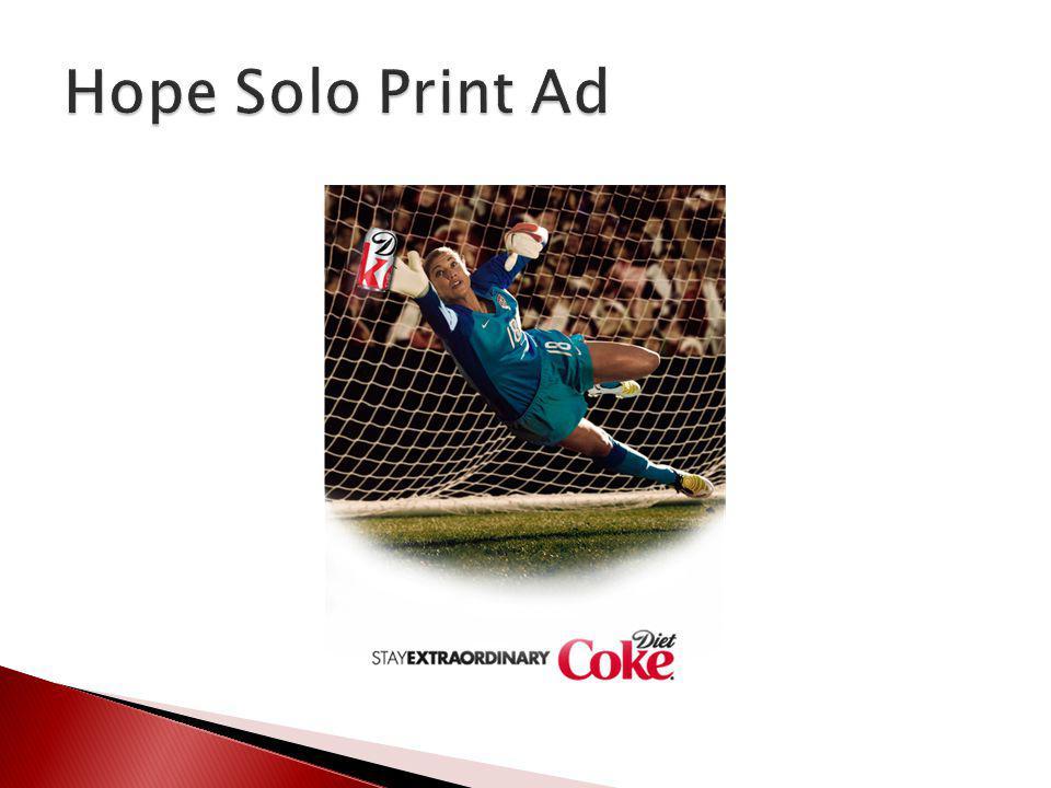 Hope Solo Print Ad