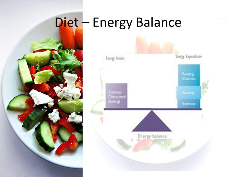 Diet – Energy Balance