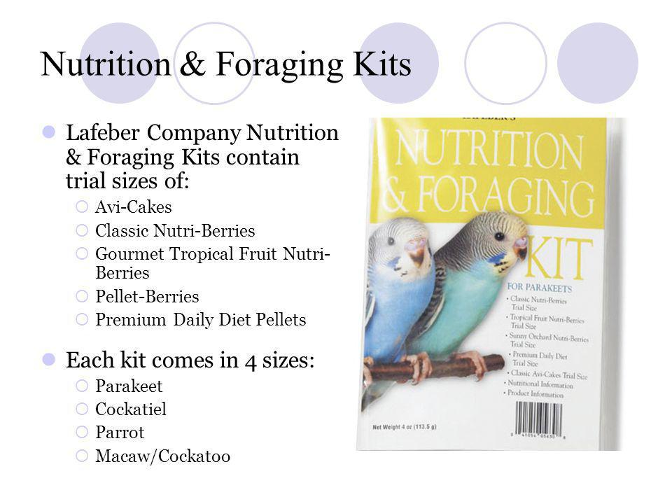 Nutrition & Foraging Kits