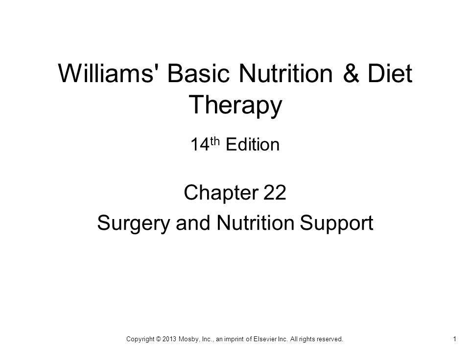 Williams Basic Nutrition & Diet Therapy