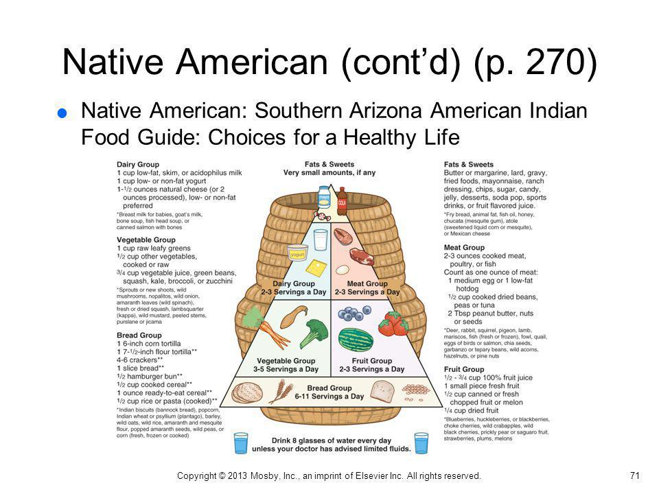 Native American (cont'd) (p. 270)
