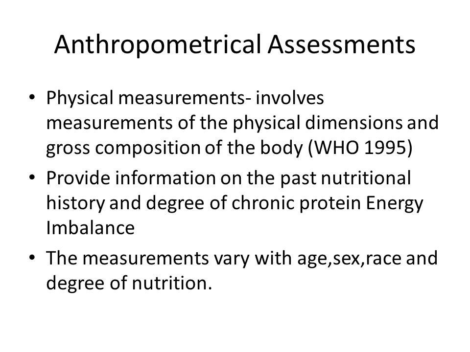 Anthropometrical Assessments
