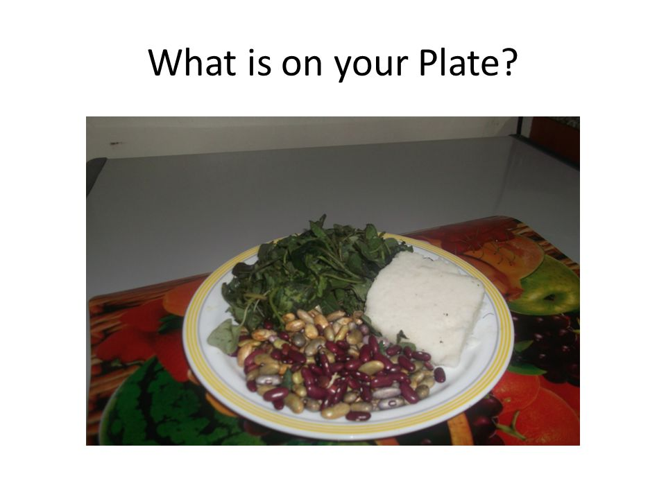 What is on your Plate
