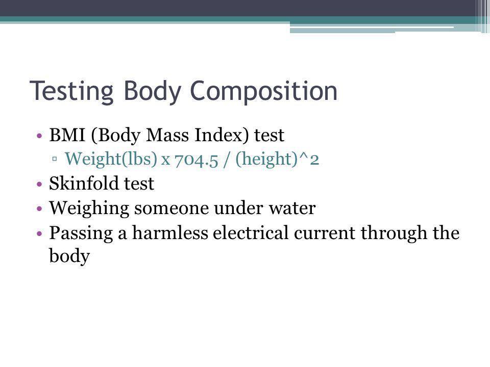 Testing Body Composition