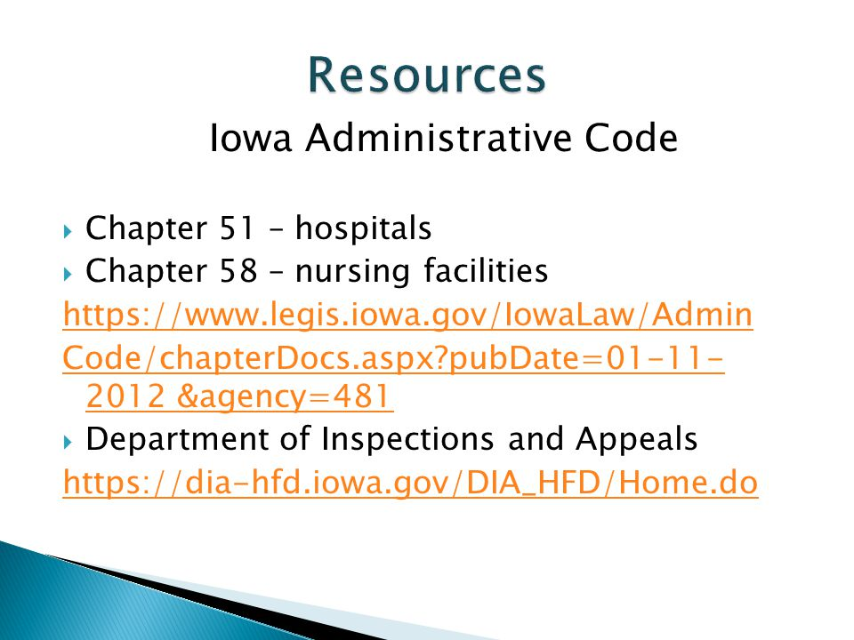 Iowa Administrative Code