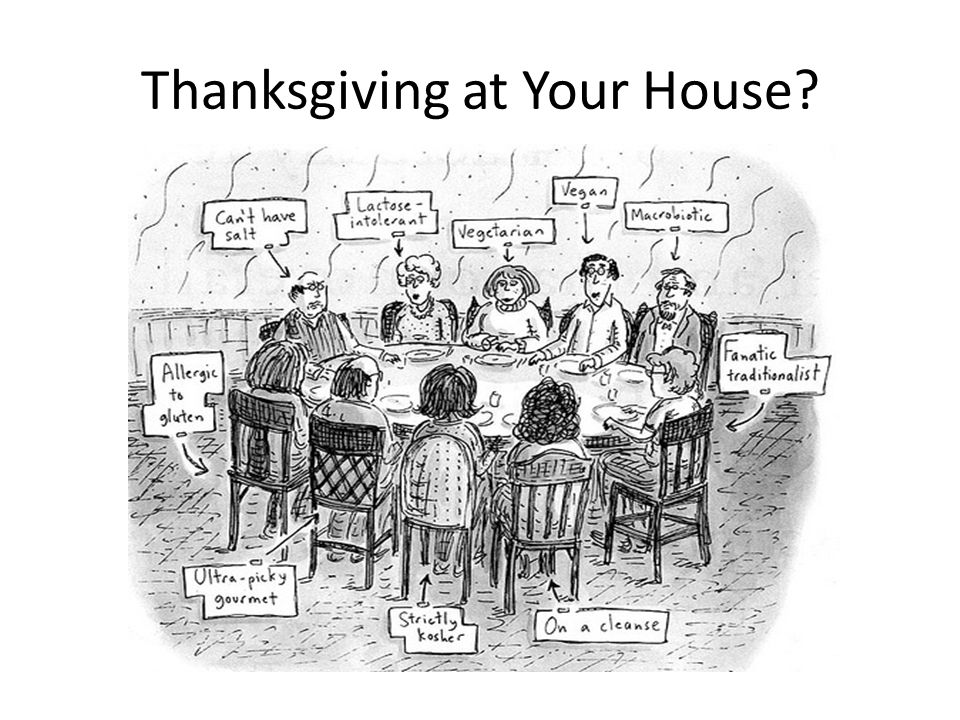 Thanksgiving at Your House