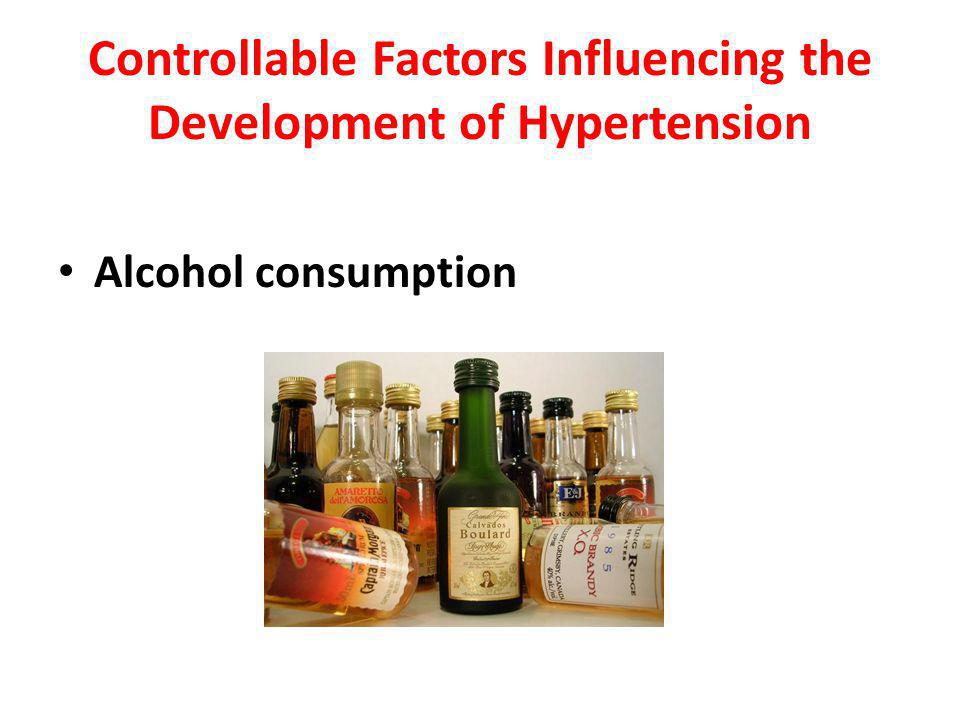 Controllable Factors Influencing the Development of Hypertension