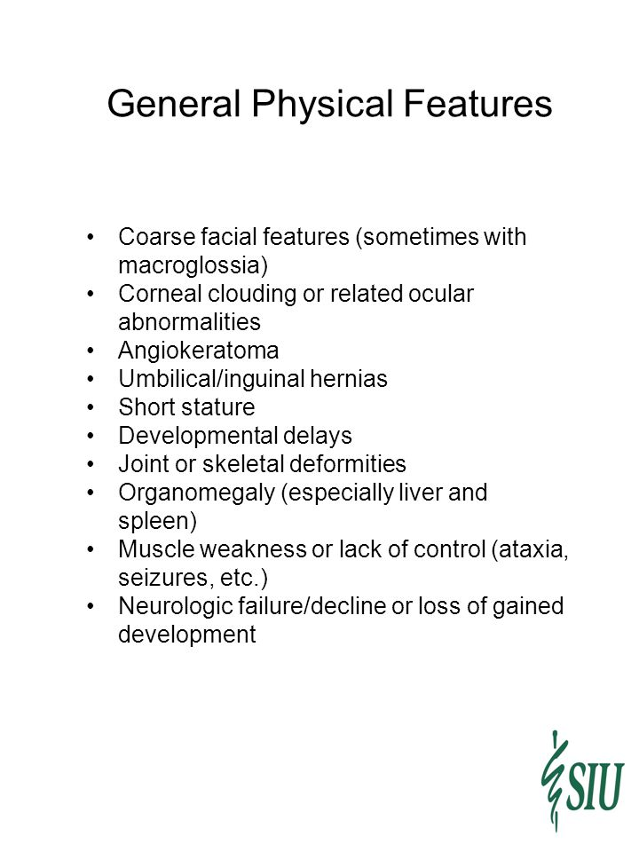 General Physical Features
