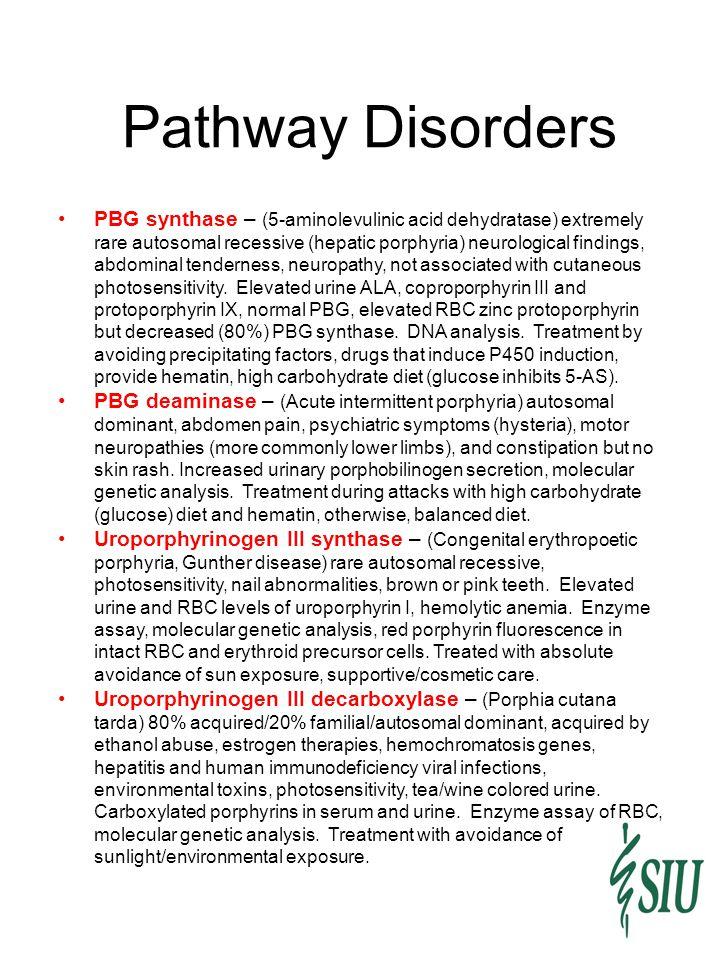 Pathway Disorders