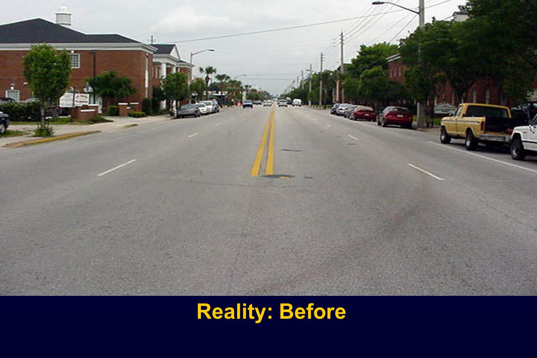 Reality: Before