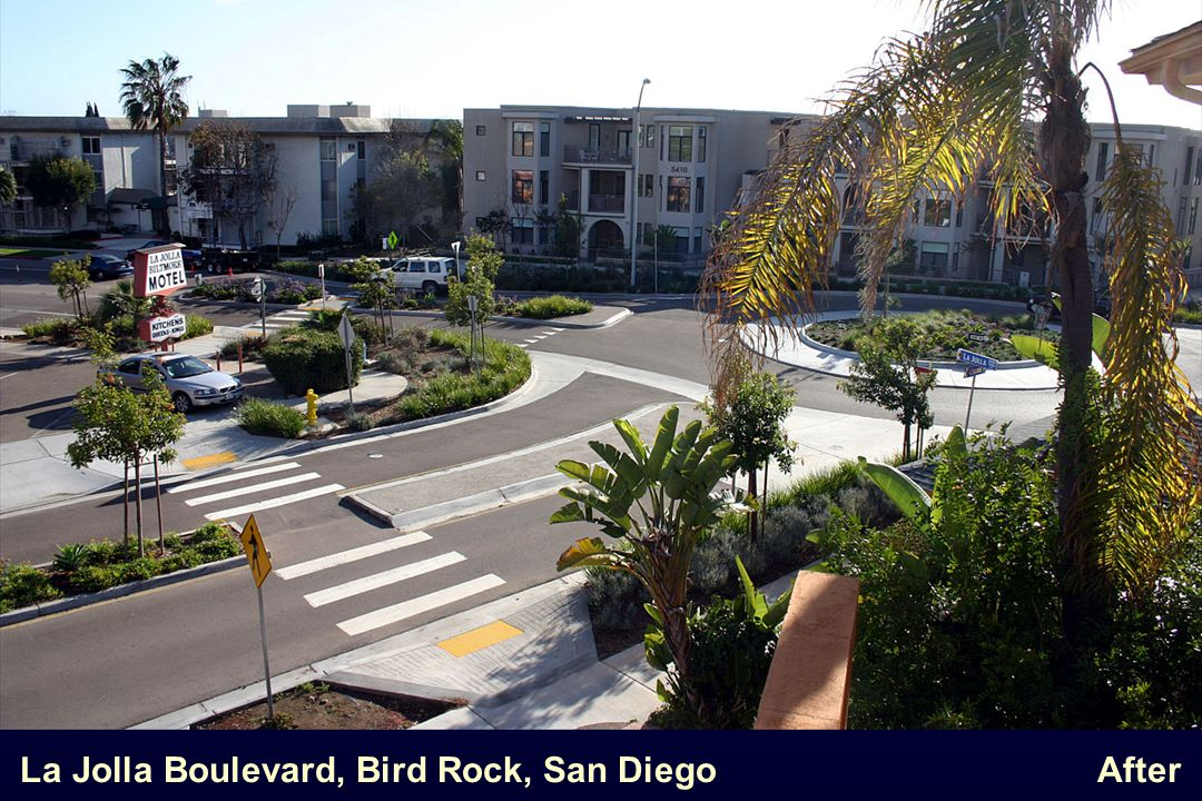 La Jolla Boulevard, Bird Rock, San Diego After