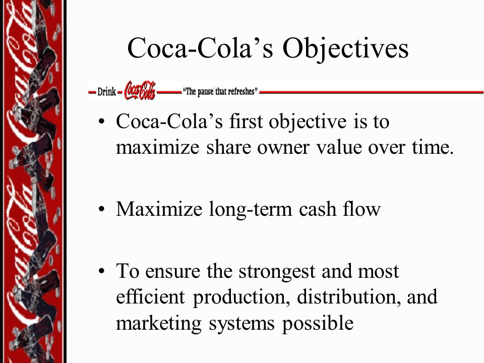 Coca-Cola's Objectives