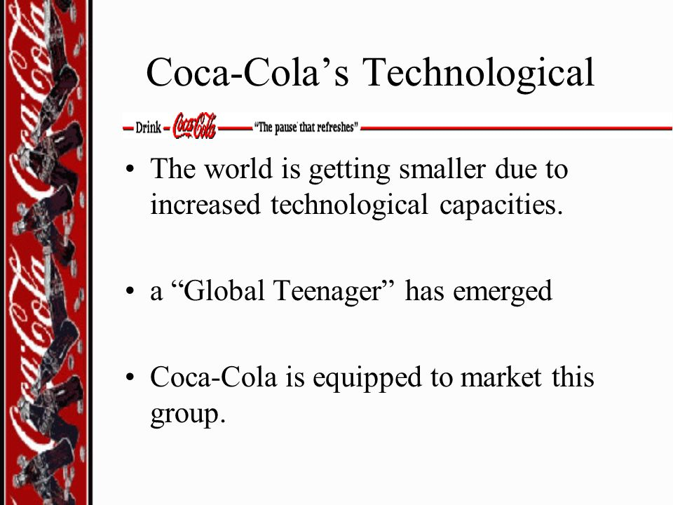 Coca-Cola's Technological
