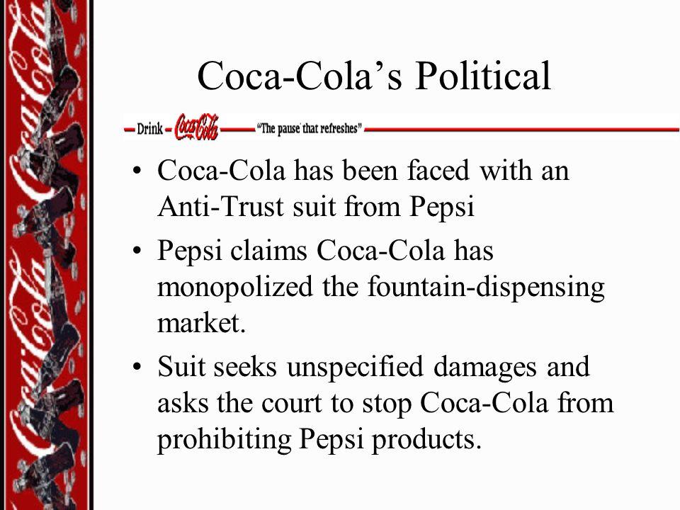 Coca-Cola's Political