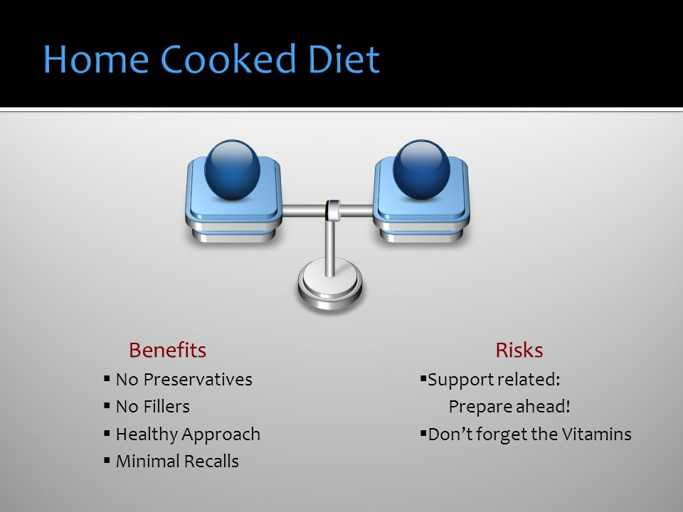 Home Cooked Diet Benefits Risks No Preservatives No Fillers