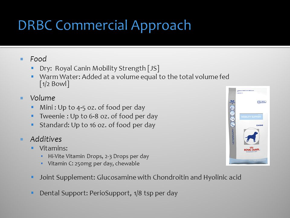 DRBC Commercial Approach