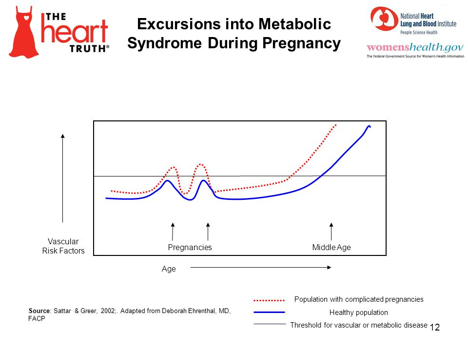 Excursions into Metabolic Syndrome During Pregnancy