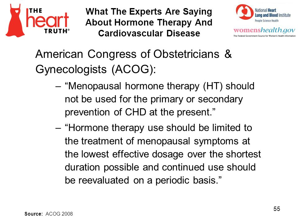 American Congress of Obstetricians & Gynecologists (ACOG):