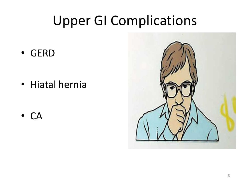 Upper GI Complications