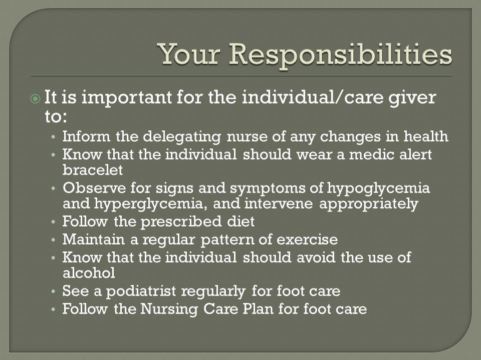 Your Responsibilities