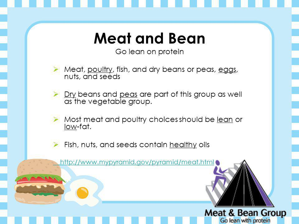 Meat and Bean Go lean on protein