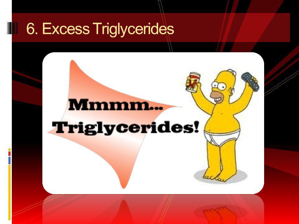 6. Excess Triglycerides