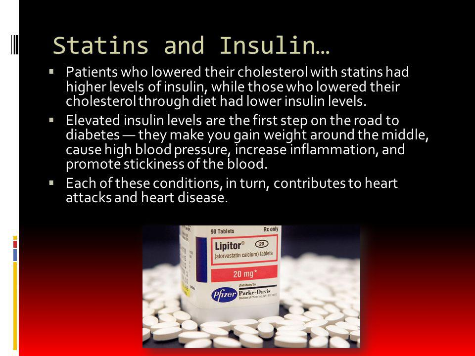 Statins and Insulin…