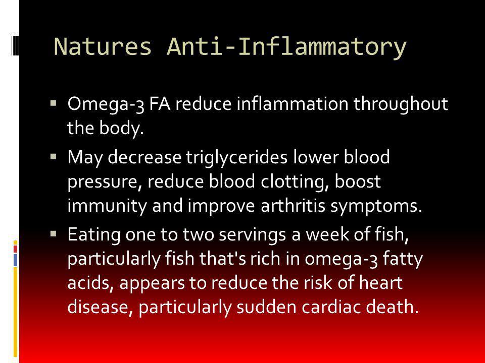 Natures Anti-Inflammatory