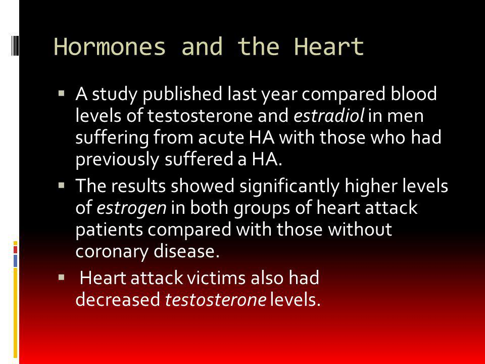 Hormones and the Heart