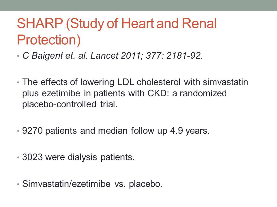 SHARP (Study of Heart and Renal Protection)