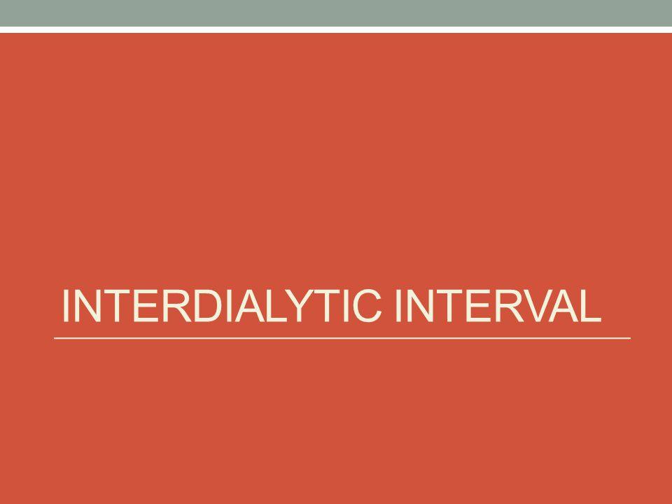 Interdialytic Interval