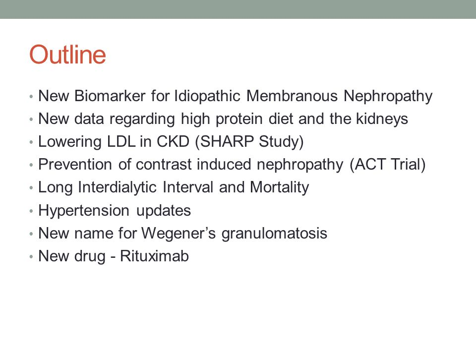 Outline New Biomarker for Idiopathic Membranous Nephropathy