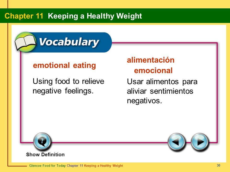 alimentación emocional emotional eating