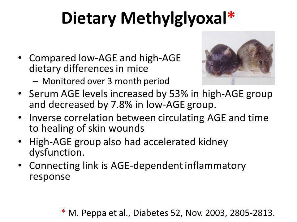 Dietary Methylglyoxal*